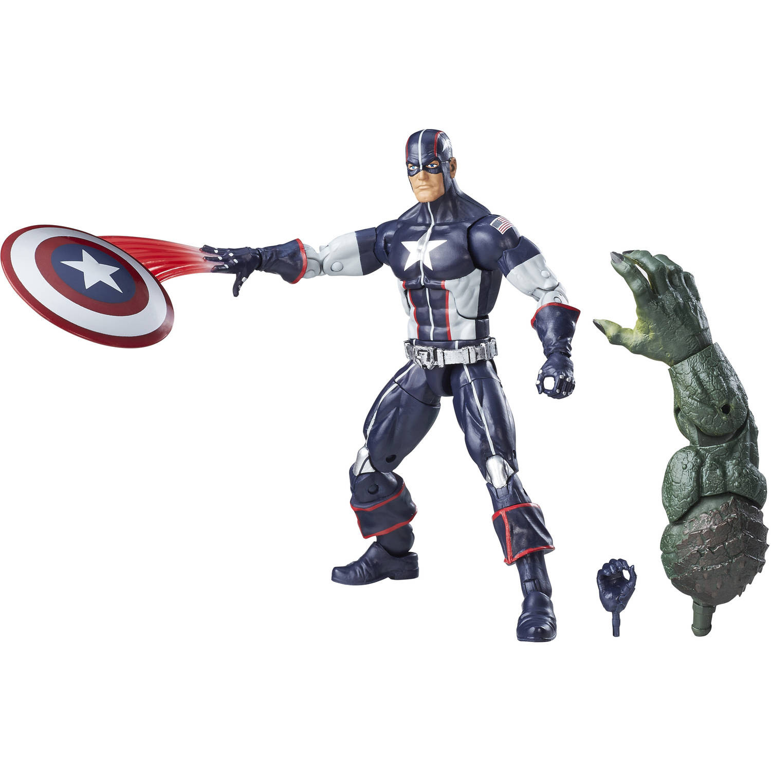 "Marvel 6"" Legends Series Secret War Captain America"