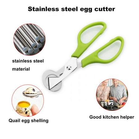 Practical Design Household Kitchen Stainless Steel Quail Egg Shells Scissors - image 4 of 8