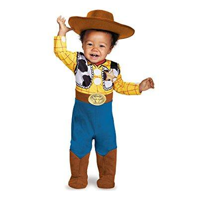 Baby Boo Costume (disguise baby boys' woody deluxe infant costume, multi, 12-18)