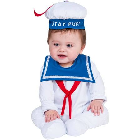 Stay Puft Onesie Baby Halloween Costume (Baby Skunk Halloween Costume Pattern)