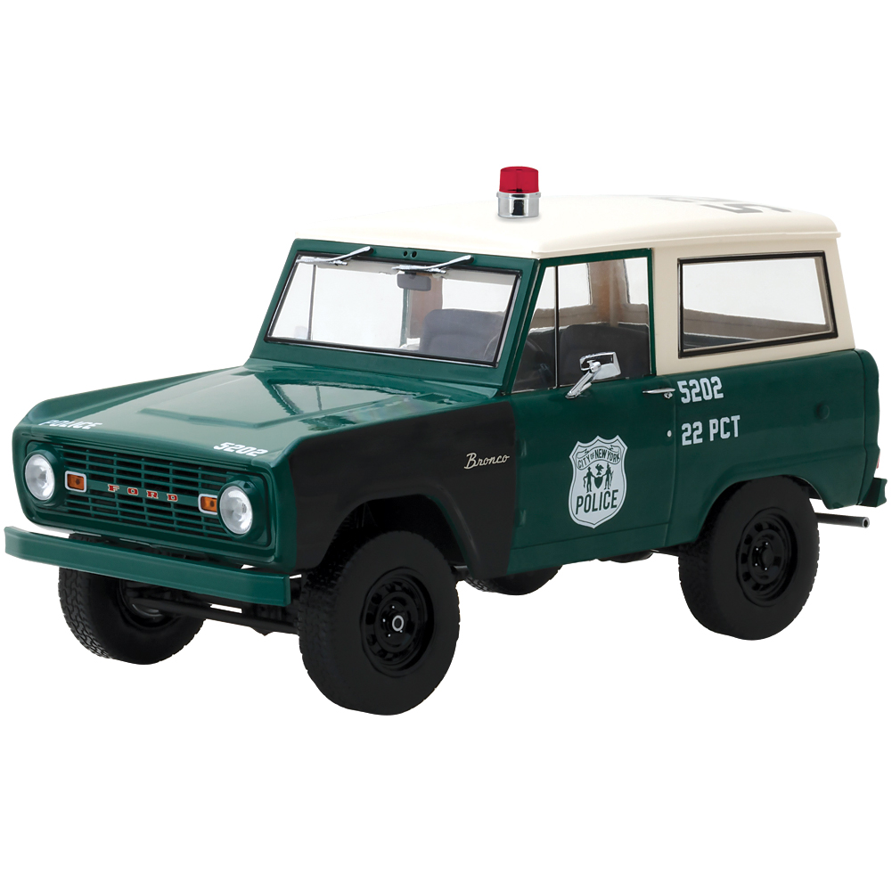 1967 Ford Bronco Police Cruiser Die Cast Officially Licensed Collectible by Johnson Smith Co.