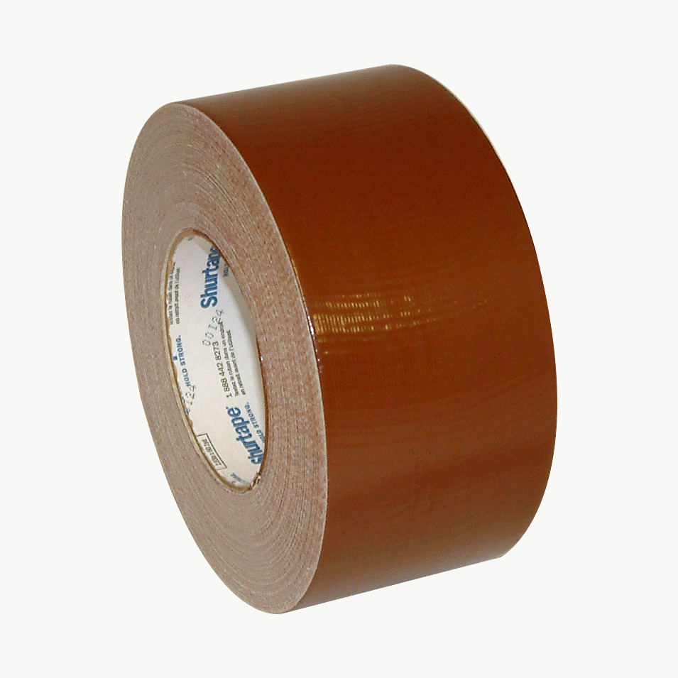 Shurtape PC-618 Industrial Grade Duct Tape: 3 in. x 60 yds. (Brown)