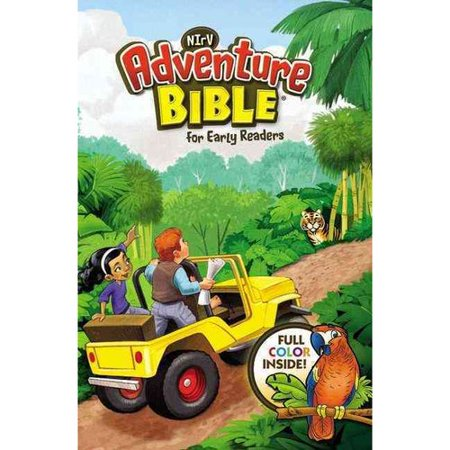 NIrV Adventure Bible for Early Readers: New International Reader's Version, 3-D Cover