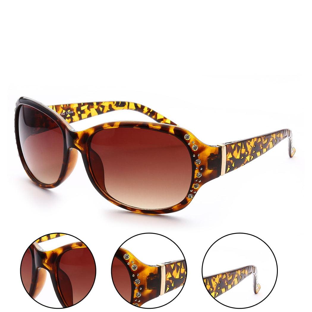 Coachella Gemstone Adorned Look Fashion Womens Sunglasses