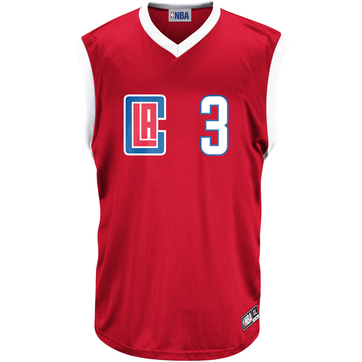 NBA Los Angeles Clippers Men's Paul Team Replica Jersey
