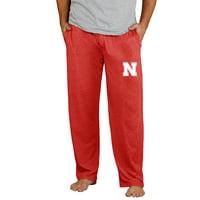 Nebraska Cornhuskers Concepts Sport Quest Knit Pants - Scarlet