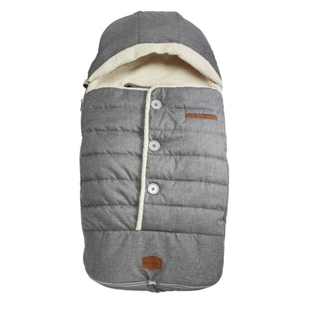 JJ Cole Urban Bundleme, Toddler Bundle Bag, Heather Grey, Ages 1-3