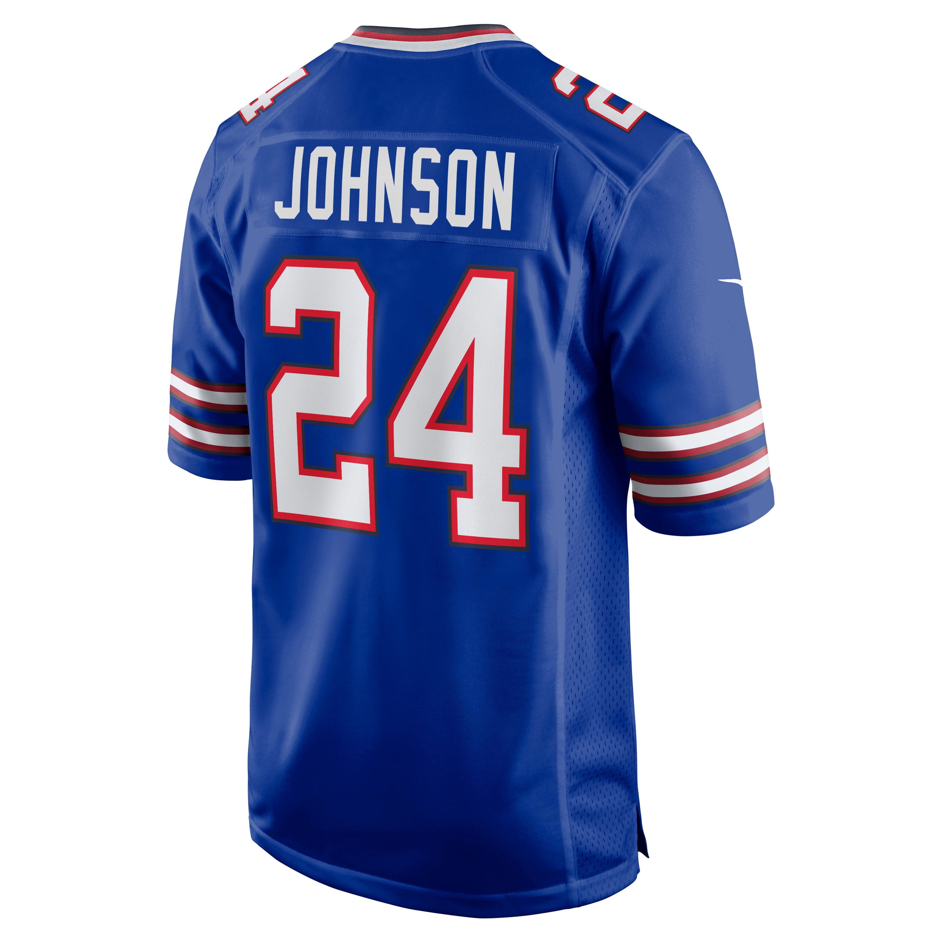 Taron Johnson Buffalo Bills Nike Game Jersey - Royal
