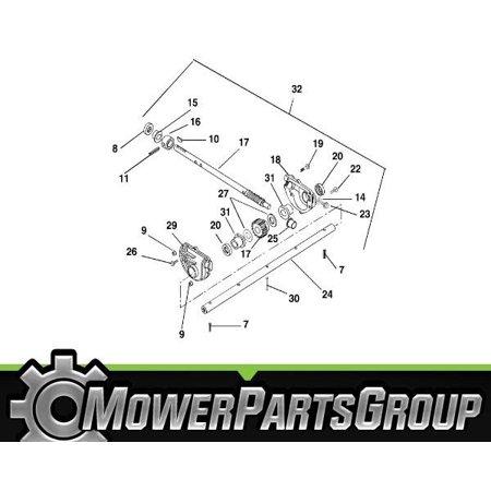 "A398 22"" OEM Ariens/Gravely Aluminum Gearcase 53900500 Snowblower Snow (Aluminum Blower)"
