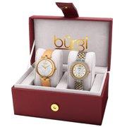 Burgi Womens Two Tone Watch [BUR152YG]