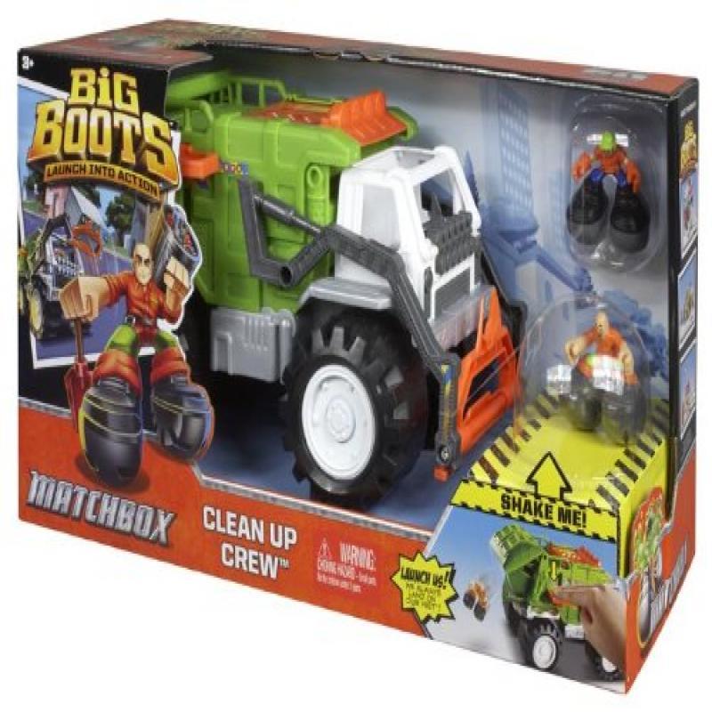 Matchbox Big Boots Clean Up Crew Vehicle by Mattel