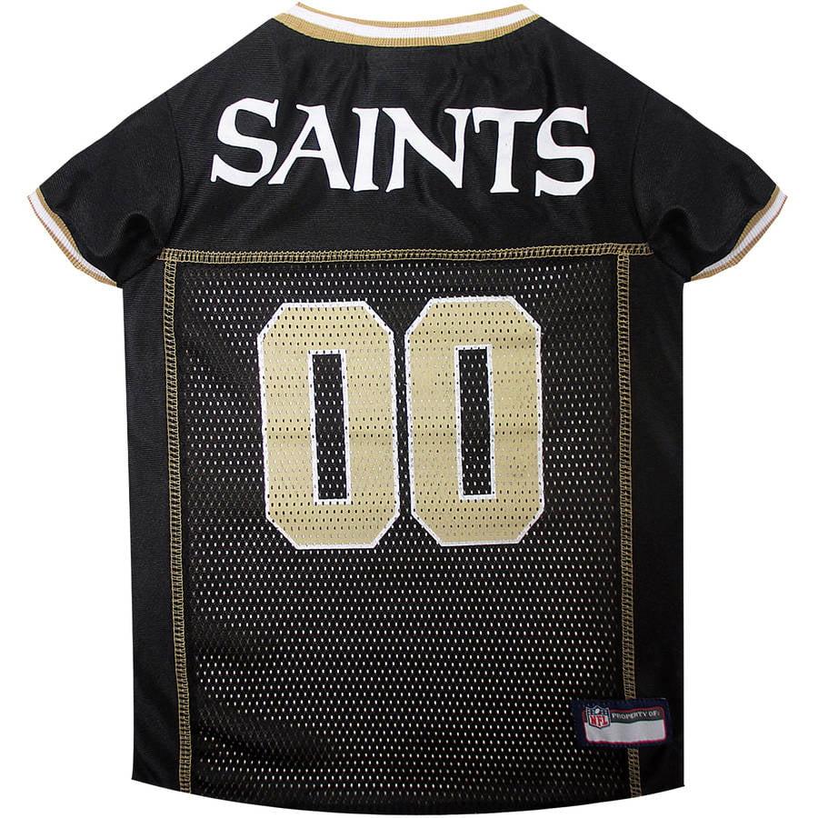 Pets First NFL New Orleans Saints Pet Jersey