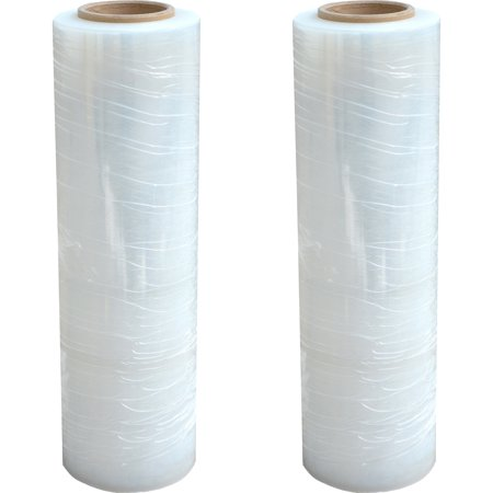 "(2 Pack) Pro-Series Stretch Wrap Roll, 18"" x 1500"