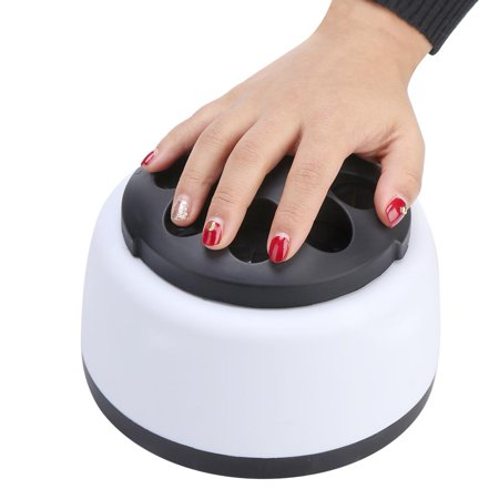 Enamel Steamer (HURRISE 36W Gel Nail Polish Remover Tool Steamer Machine Portable Electric Nail Art Equipment for Salon Home Use, Easy Cleaner, Nail Steamer, Nail Remover Machine)