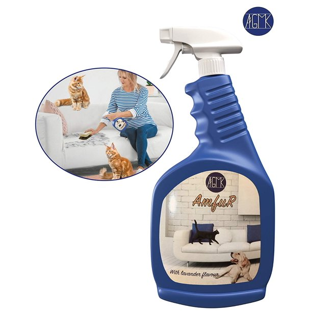 Best Spray Pet Hair Removal Spray By Amfur Quick Effective Pet