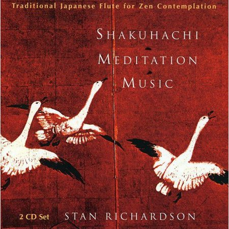 (Full title: Shakuhachi Meditation Music: Traditional Japanese Flute For Zen Contemplation.The tones of the bamboo flute are ancient Japanese tools for Zen enlightenment, said to channel spiritual energies and aid in meditation, yoga, and bodywork. Though the Shakuhachi flute is now used in many musical arenas, Stan Richardson is a purist in that he uses it exclusively for Zen meditation. The brilliance of this music is its minimalism. At times, one note seems to go on infinitely, but then surprising shifts and unexpected notes reveal a subtle, hypnotic power.)