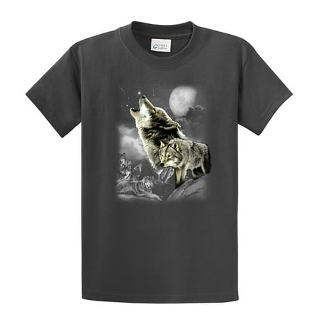 Wolf T-Shirt Wolves In The Wild Howling ()