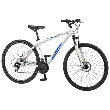 700c Mens Mongoose Banish 2 0 Bike White