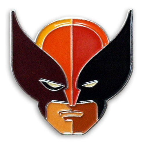 X-Men Wolverine Brown Suit Enamel Pin, Wear the head of the Wolverine for all the world to see with this X-Men... by