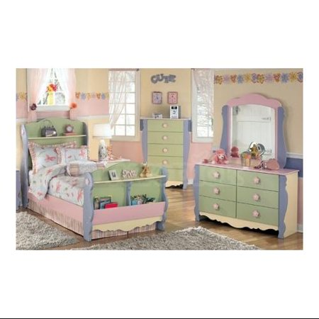 Doll House Sleigh Bed Twin Size
