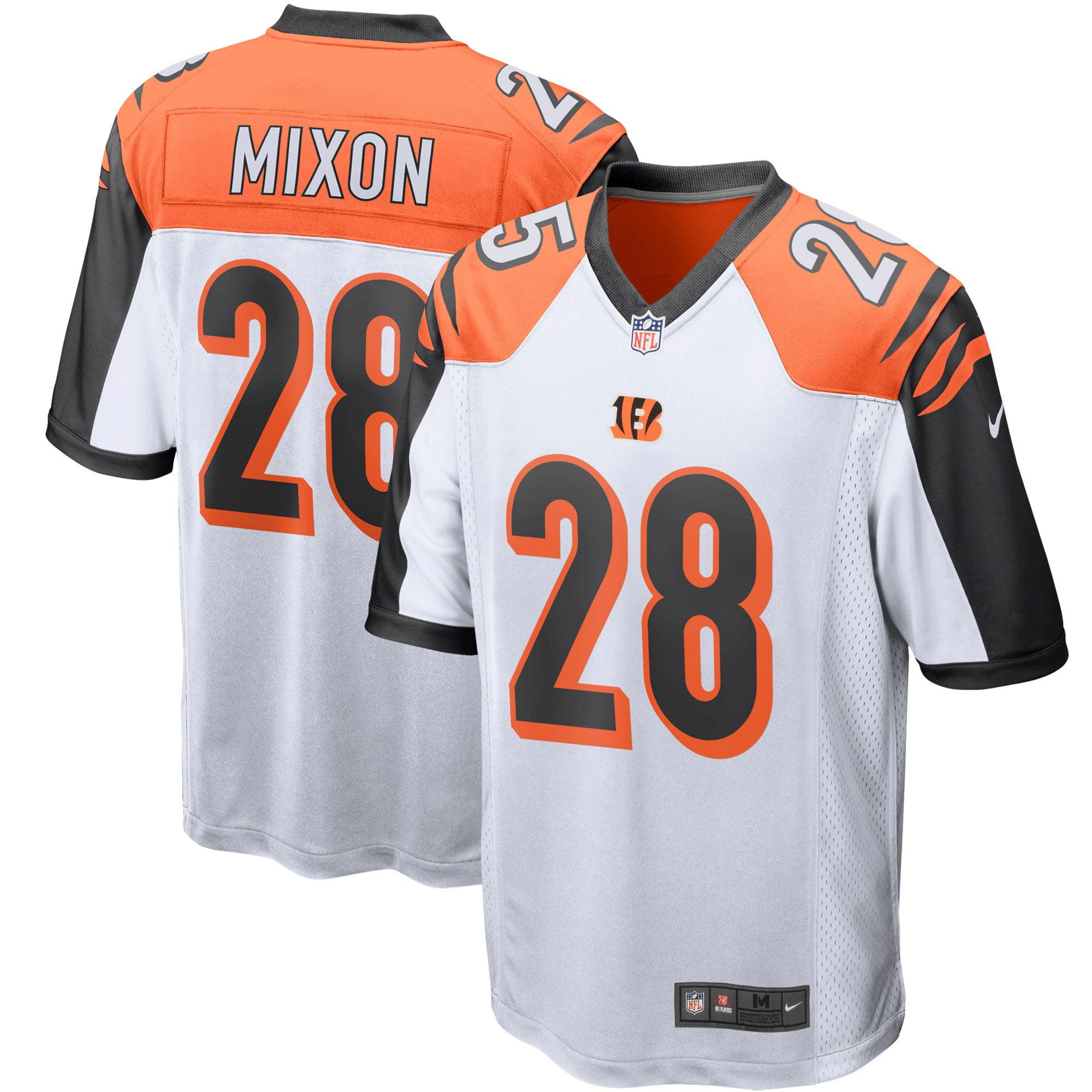 Joe Mixon Cincinnati Bengals Nike Player Game Jersey - White - Walmart.com