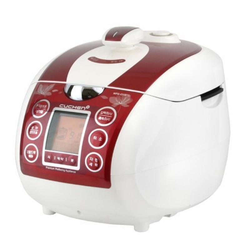 Cuchen Elvan Pressure Rice Cooker (10cup, Red)