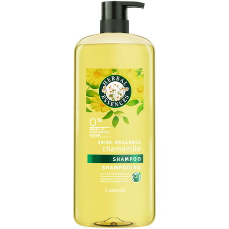 Herbal Daily Cleansing Shampoo - Herbal Essences Shine Collection Shampoo, 33.8 fl oz