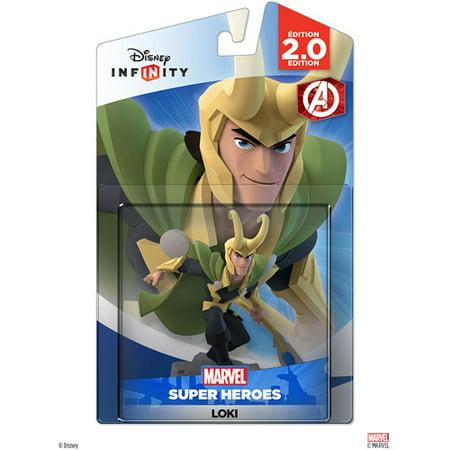 Disney Infinity: Marvel Super Heroes (2.0 Edition) Loki Figure (Universal) Marvel Universe Union Jack
