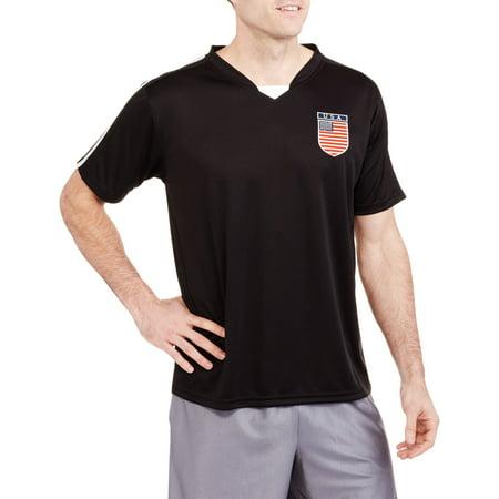 Big Men's USA Soccer Jersey