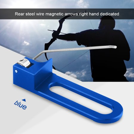Professional Aluminum Archery Recurve Bow Magnetic Arrow Rest For Right Hand,Arrow Rest, Archery Accessory