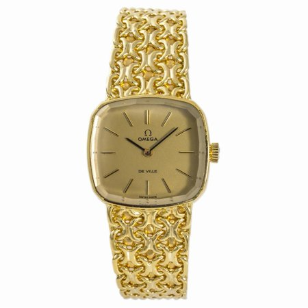 Pre-Owned Omega De Ville NO-REF# Gold Women Watch (Certified Authentic & Warranty)