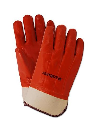 Magid Glove & Safety Mfg 338SCT Winter-Insulated PVC Glove, Brown, Large