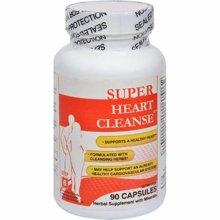 Health Plus Heart Cleanse Total Body Cleansing System - 90 Capsules ()