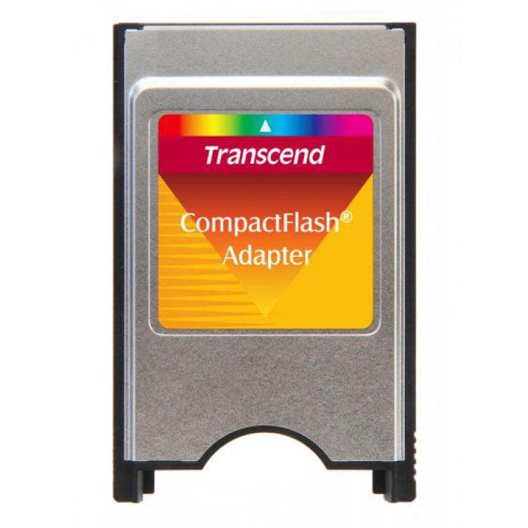 Transcend CF CompactFlash PCMCIA Adapter Memory Card Model TS0MCF2PC