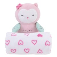 Child Of Mine Plush Owl and Blanket Set