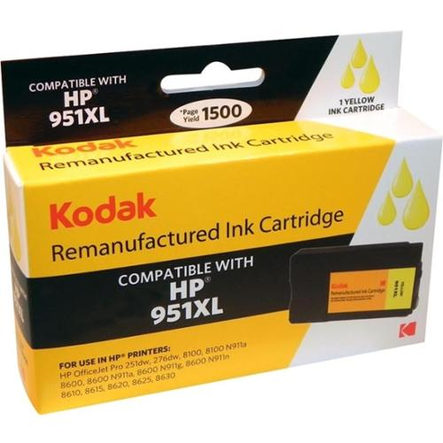 Kodak KODAK Remanufactured Ink  Yellow