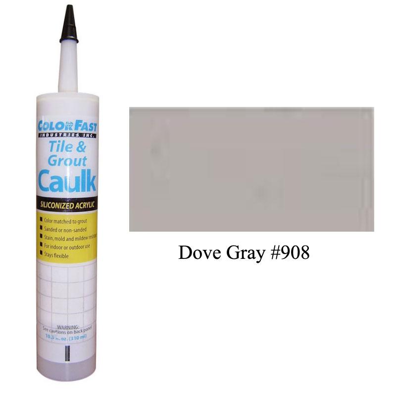 Latex Colored Caulk - TEC Color Line: Dove Gray Unsanded