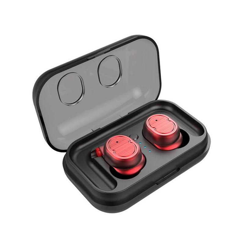 Waterproof Wireless bluetooth Headphones Sport Earbuds Stereo Earphones Heavy Bass Headset With Mic