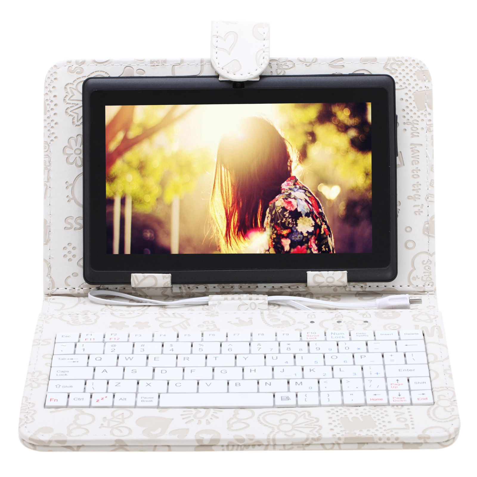 "Irulu Black 7""Inch Google Android 8GB Tablet PC, Quad Cor..."