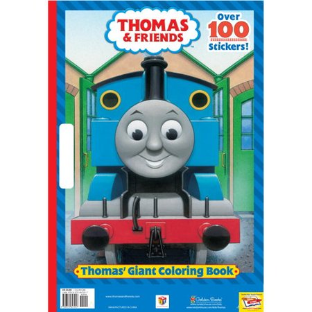 Thomas\' Giant Coloring Book (Thomas & Friends) - Walmart.com