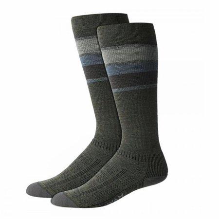 Wigwam Made In USA Tall Trekker Fusion Socks Olive Green Unisex Medium