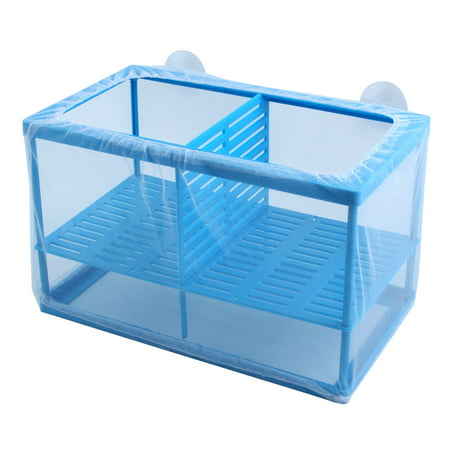Double Breeder - Unique BargainsFish Aquarium Plastic Frame Mesh Hatchery Breeder Box Separation Breeding Net