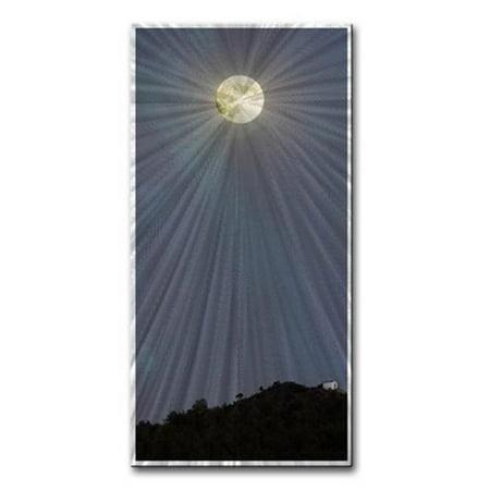 All My Walls 0110ME00001 Kaya Moon Metal Artwork, Multicolor - Small ()