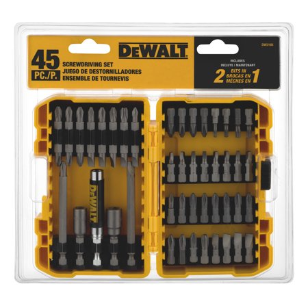 DeWalt Screwdriving Set - 45 PC, 45.0 PIECE(S)