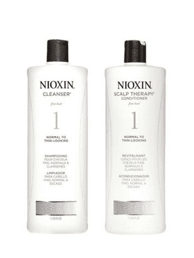 Nioxin System 1 Cleanser & Scalp Therapy Conditioner Duo, 33.8 Oz