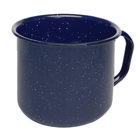 - IMUSA USA 1.25-Quart Blue Speckled Enamel Mug