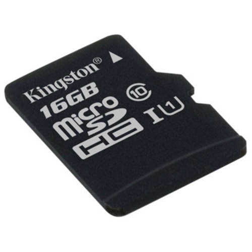 Kingston 16GB microSDHC Class 10 UHS-I 45R Flash Card without Adapter
