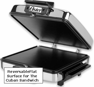 Oster Cuban sandwich press and waffle maker