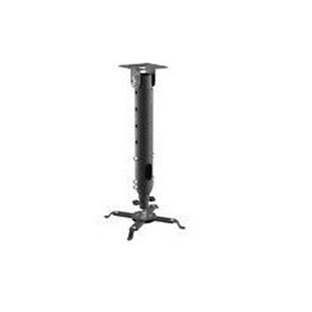 Universal Height Adjustable Projector Ceiling Mount - Black - image 1 of 1