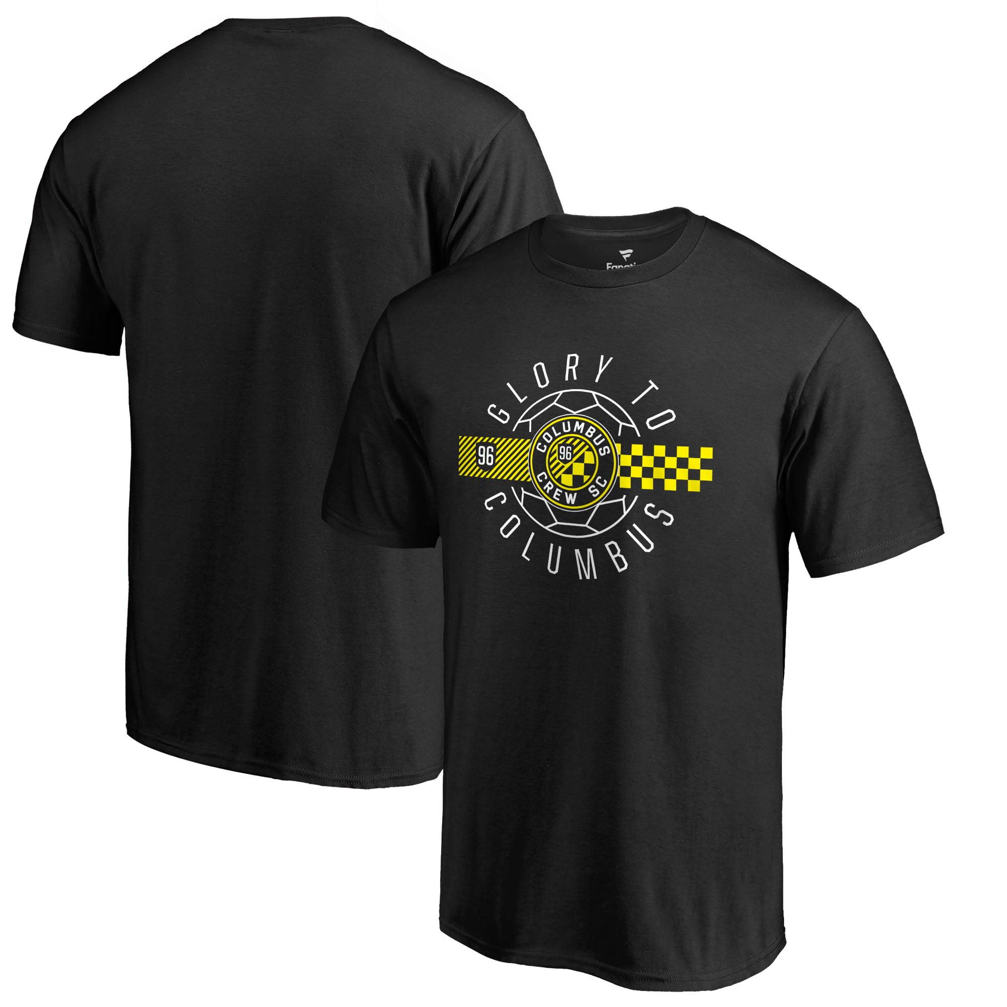 Columbus Crew SC Fanatics Branded Hometown Collection T-Shirt - Black